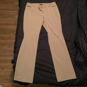 Express Editor pants camel colored size 10R